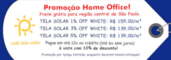 Rolô Tela Solar